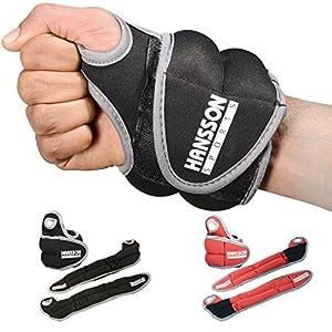 Hansson.Sports Gewichtsmanschetten Laufgewichte f. Hand-Gelenke