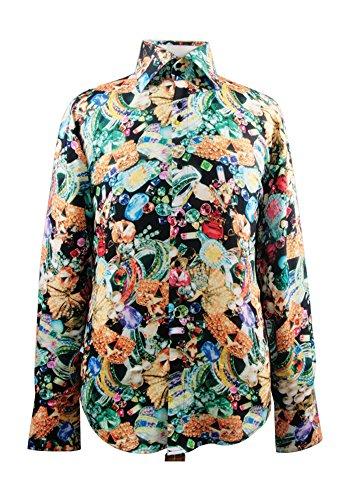 Sunrise Outlet - Chemise habillée - Avec boutons - Homme Multicolore - Multicolore