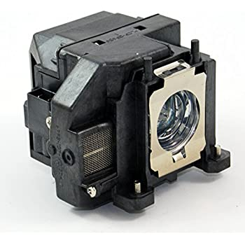 Replacement Projector lamp for Epson V13H010L67, ELPLP67