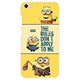 PrintVoo Despicable Minions Quote Printed Case for VIVO V5 / Vivo V5/ Vivo V5S / Vivo V5 S / Vivo Y67 / Vivo Y 67