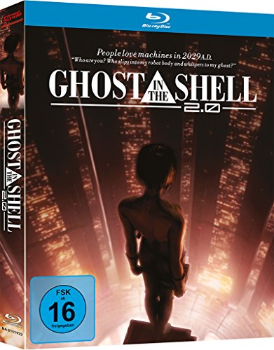 Bild von Ghost in the Shell 2.0 (Mediabook) [Blu-ray]