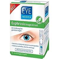 EyeMedica Euphrasia Augentrost   Augentropfen   mit Hyaluron und Euphrasia   bei gereizten Augen preisvergleich bei billige-tabletten.eu