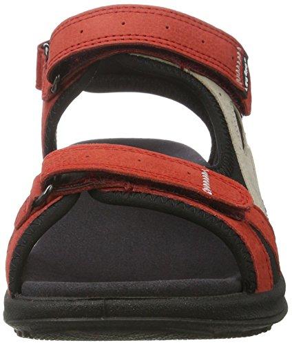 Legero Siris Damen Offene Sandalen mit Keilabsatz Weiß (Samba 62)