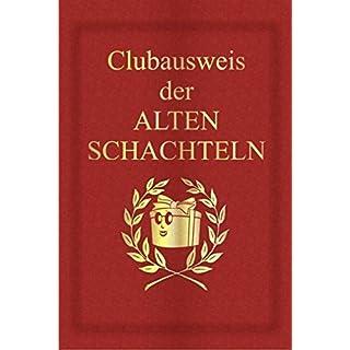 BUTLERS BOOK Clubausweis der alten Schachteln