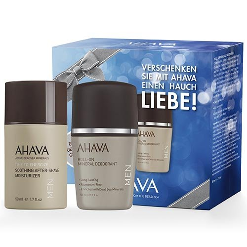 AHAVA Time to Energize homme/men Geschenkset (Aftershave, Deo Roll-on)
