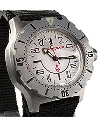 Vostok ruso mecánico K-35# 350624KOMANDIRSKIE 24horas reloj de pulsera 2431.01