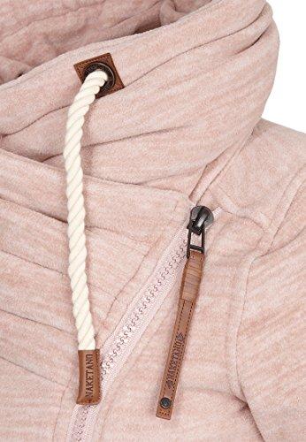 Naketano Female Zipped Jacket Jüberagend Dusty Pink Melange