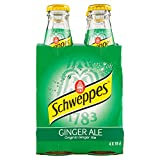 Schweppes Ginger Ale 180ml (Confezione da 4)