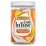 Twinings Cold In'Fuse Mango Passionfruit and Blood Orange (Pack of 6 Jars, Total 72 Infusers)