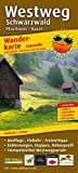 Westweg Schwarzwald: Leporello Wanderkarte wetterfest, reissfest, abwischbar, GPS-genau. 1:50000 (Leporello Wanderkarte / LEP-WK)