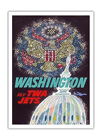 Washington Dc - Trans World Airlines Fliegen TWA Jets -