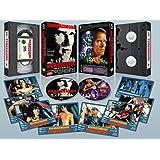 Perseguido BD 1987 The Running Man + DVD Extras VHS Retro + 8 Postales Edición Limitada y Numerada 1000 ejemplares