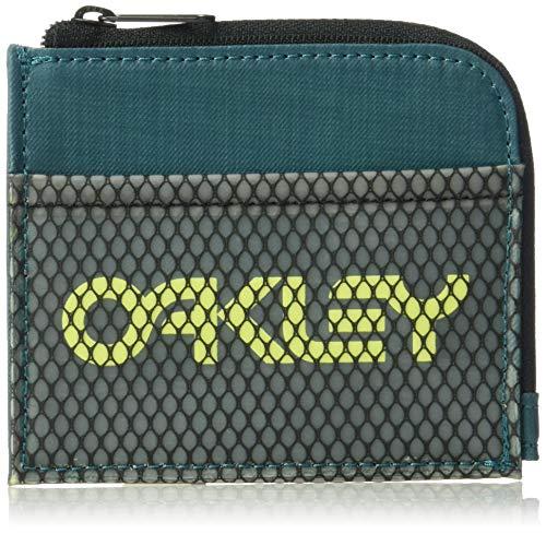 Oakley 90's Zip Small Wallet - Petrol