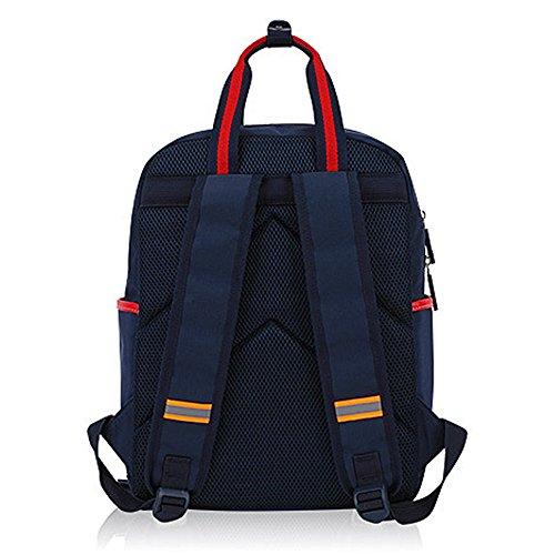KINDOYO Jungen Mädchen Wasserdichte Rucksack für Kinder Unisex Schulrucksäcke Rucksack für Reisen, Wandern KönigsBlau