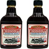 Mississippi Barbecue Grill Sauce 'Sweet'n Spicy', 2x440ml (Doppelpack)