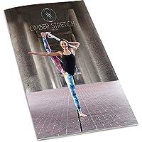 Libro Limber Stretch de estiramientos para ejercicios avanzados de flexibilidad de yoga y de terapia física con cintas para estiramientos