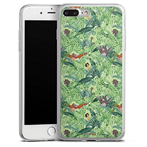 Apple iPhone X Slim Case Silikon Hülle Schutzhülle Dschungelbuch Muster Disney Silikon Slim Case transparent