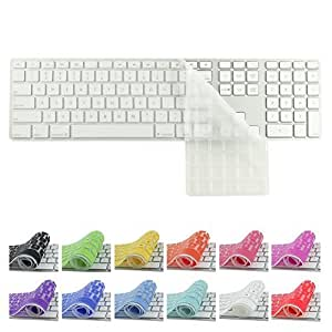 All-inside Transparent Keyboard Cover for iMac Wired USB Keyboard