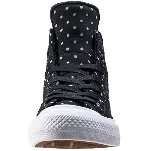 Converse Chuck Taylor All Star Ii High Donna Sneaker Nero Black White