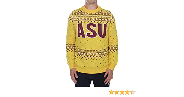 Tipsy Elves pour Homme Arizona State University Pull – ASU Sun Devils Ugly Pull de Noël