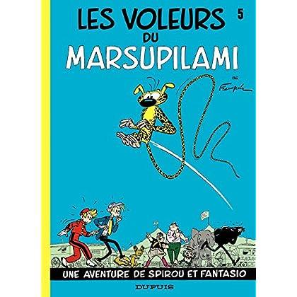 Spirou et Fantasio - Tome 5 - LES VOLEURS DU MARSUPILAMI