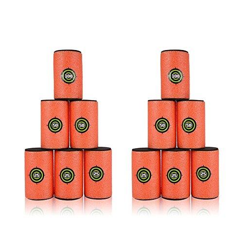 Yosoo Dart Foam pistola spara morbido EVA Bullet target giocattolo per bambini per Nerf n-strike Blasters