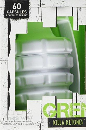 Grenade Killa Ketones Weight Management Capsules – 60 Capsules