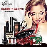 FantasyDay Pro 7 Pezzi Palette di Trucchi Trosse di Trucchi Set di trucchi Cosmetici Kit Make Up Set Valigetta per Cosmetici Ombretti di Trucco Beauty Set #1