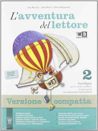 L'avventura del lettore. Con letteratura-Prove INVALSI. Ediz. compatta. Con espansione online. Per la Scuola media: 2