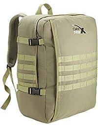 Bagage Cabine/ Sac à Dos MOLLE. 44L Bagage à Main Militaire Tactique 55 x 40 x20cm