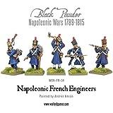Black Powder, Napoleonic Wars,napoleonic French Engineers, 28mm Warlord Games