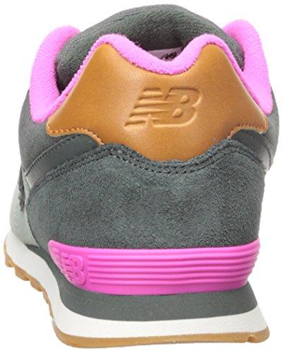 New Balance Kl574nwp-574, Sneakers Hautes Mixte Enfant Gris