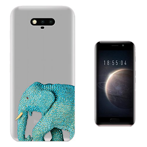 c00905-cool-wildlife-blue-indian-african-elephant-tusks-design-huawei-honor-magic-fashion-trend-prot