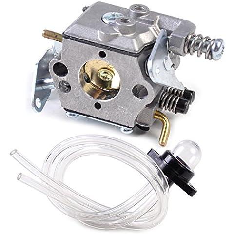 Carburatore Carb + Primer lampadina + linea del combustibile misura per Chainsaw Poulan Sears Craftsman WT-89 WT-891