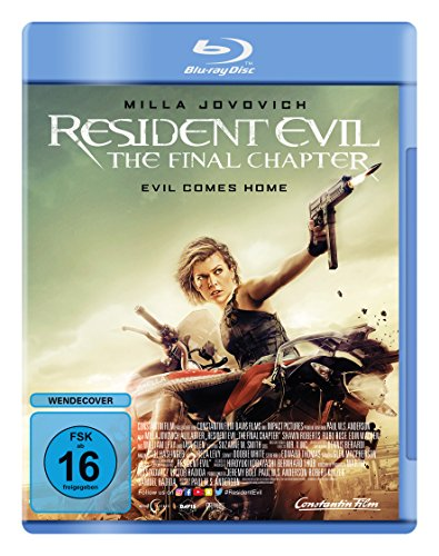 Preisvergleich Produktbild Resident Evil: The Final Chapter [Blu-ray]