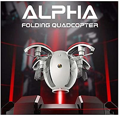 Malloom 2017 New 2.4GHZ 4CH 6-Axis gyro RC Quadcopter K130 ALPHA Folding Transformable Egg Drone RTF