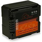 Power Batterie VW-VBG130 VBG-130 pour Panansonic Panasonic HDC-DX Serie | HDC-SD Serie| HDC-HS Serie | HDC-SX Serie | HDC-TM Serie | SDR-H Serie et bien plus encore... [ Li-ion; 1500mah; 7.2V ]