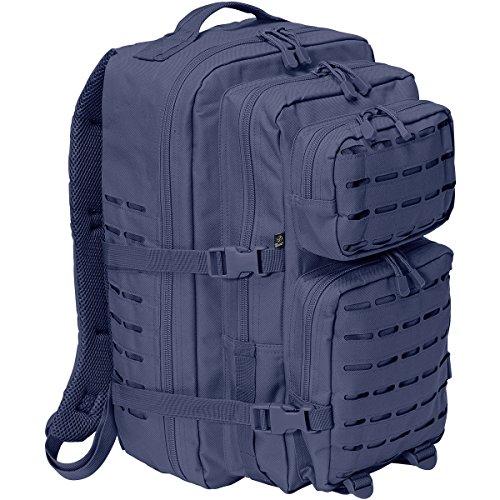 Brandit US Cooper Lasercut Large Rucksack Dunkles Marineblau
