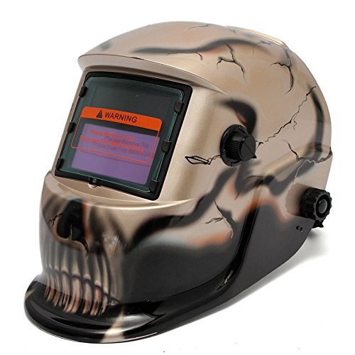 a08ff713f534da AUDEW Masque de Soudure Cagoule Casque Soudage Solaire Automatique  Rechargeable (Utiliser Energie Solaire pour Recharge