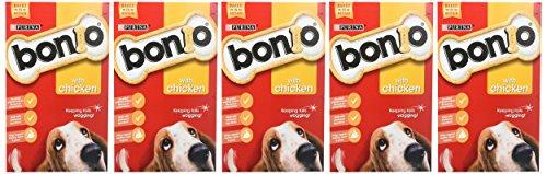 Bonio Biscuits Dog Food Chicken Flavour 650g (Case of 5) 2