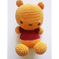 WinniePooh, orsetto amigurumi. orsetto all'uncinetto regalo per bambini e adulti. idea regalo. pupazzo. winnie the pooh fatta a mano peluche