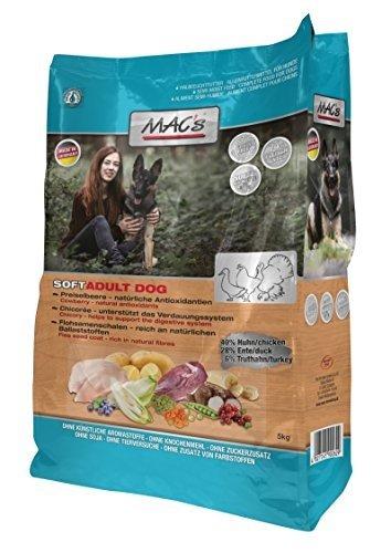 Zoolox Mac''s Soft Grain Free - Getreidefrei für Hunde Größe 5kg