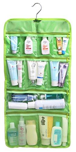 wodison-transparent-suspendre-voyage-sac-de-toilette-cosmetic-organizer-case-lime-green-vert-citron