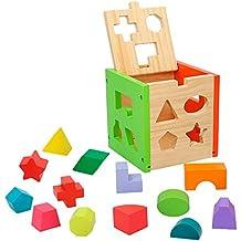 ColorBaby - Caja actividades de madera - 14 piezas (42139)