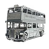 MTu 2018 3D Metall Puzzle London Bus Modell Kits I22207 DIY 3D Laserschnitt Modell-Bausatz Spielzeug