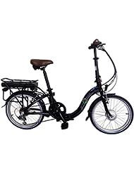 8Fun Ebike Vélo électrique 50,8cm Vélo pliable en alliage, 250W, 36V 13A Lithium-e20F01bl