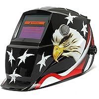 Calli águila protagoniza oscurecimiento automático de soldadura solar casco de la mÃ