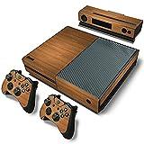 Stillshine Xbox ONE Design Folie Aufkleber f�r Konsole + 2 Controller + Kamera Sticker Skin Set (Wood Brown) Bild