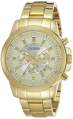 51rj7qgkQ8L - Citizen AN8082 54P Gold Mens watch