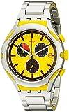 Swatch Herren-Armbanduhr Chronograph Quarz Verschiedene Materialien YYS4002AG